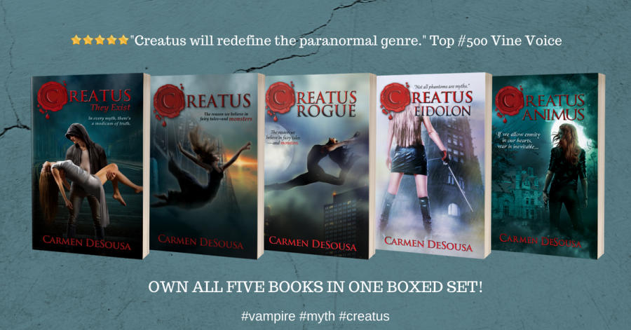 Creatus Series by Carmen DeSousa - All Five Books